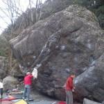 がらがらな忍者岩