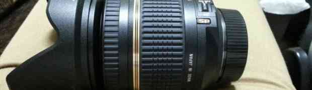 TAMRON b005 sp 17-50mmレンズ買いました。